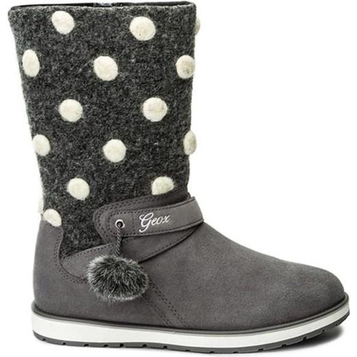 80% ZNIŻKI Dziecięce buty zimowe J NOHA A (szare) Geox
