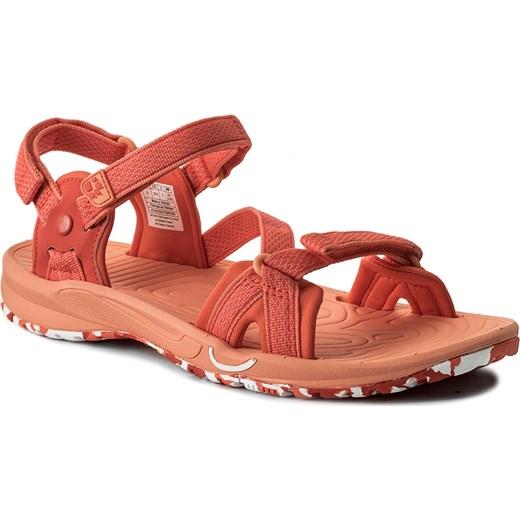 miło tanio wyglądają dobrze wyprzedaż buty dobra jakość Sandały JACK WOLFSKIN - Lakewood Ride Sandal W 4019041-1255040 Hot Coral  eobuwie.pl