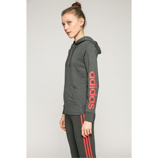 b8fc79b899e262 Bluza damska Adidas Performance w stylu młodzieżowym krótka w Domodi