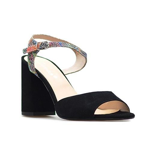 76ed5766ef7f1 Sandały Senso SONIA 2 Czarne zamsz czarny Senso Arturo-obuwie ...