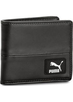 Duży Portfel Męski PUMA - Orginals Billfold Wallet 075019 01  Puma Black szary Puma eobuwie.pl - kod rabatowy