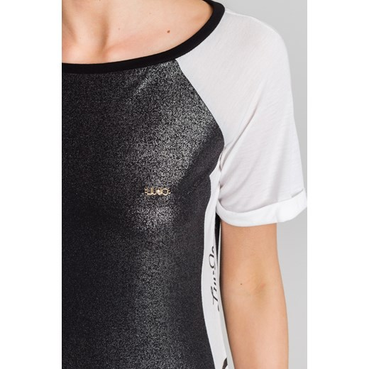 ... Czarno-biała sukienka maxi Liu Jo z nadrukiem Liu Jo Sport M Velpa.pl  ... a9e0a055298