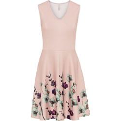 52cef1fee7 Beżowe sukienki bonprix
