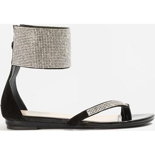badura sandały czarne 4301