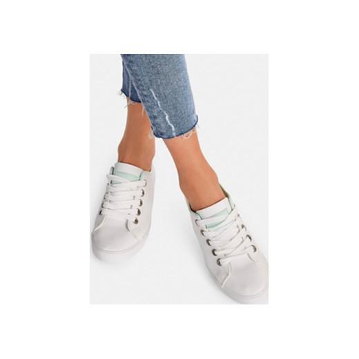 11aa2ad2dd00c Biało zielone buty sportowe Badai DeeZee.pl niebieski w Domodi