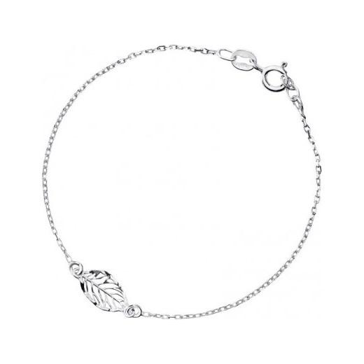 a886b56a34 Biżuteria damska INFINITY MABK0018 Bransoletka srebrna Infinity bialy  otozegarki