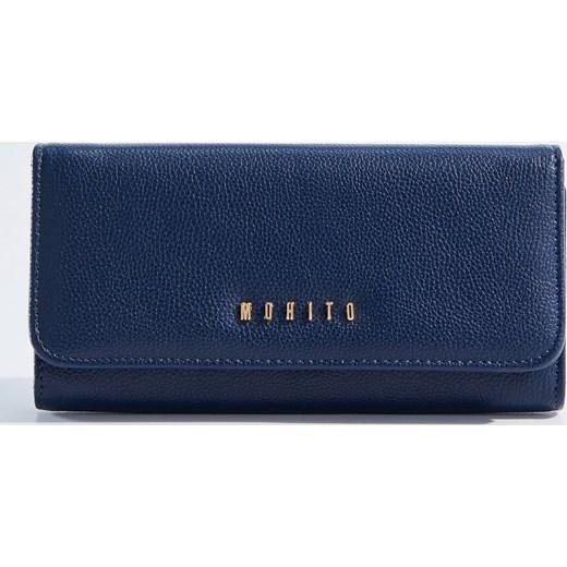 0348d45006bf9 Mohito - Minimalistyczny portfel - Granatowy granatowy Mohito One Size ...