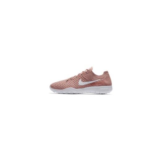 832891c043 Buty damskie do treningów obciążeniowych i ćwiczeń na siłowni Nike Free TR  Flyknit 2 - Różowy