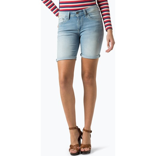 24a6f9a98f6a Pepe Jeans - Damskie krótkie spodenki jeansowe – Poppy