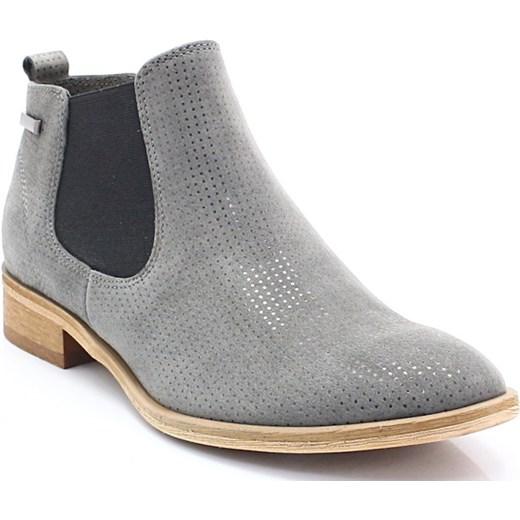 2aafbc6788183 CHILLI SHOES 1398 SZARY - Klasyczne sztyblety Chilli Shoes 37 Tymoteo.pl - sklep  obuwniczy