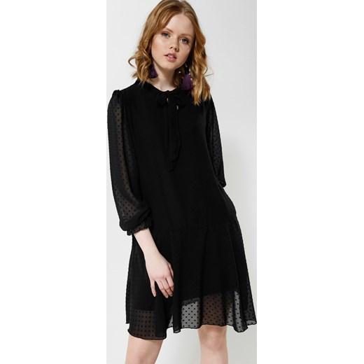 3eeb5a85bd Czarna Sukienka Romantic Love Renee czarny uniwersalny Renee odzież ...
