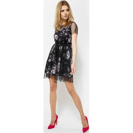 e0c399896d ... Czarna Sukienka La La Land Renee uniwersalny Renee odzież ...