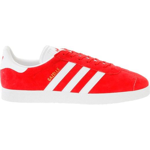 buty adidas gazelle czerwone