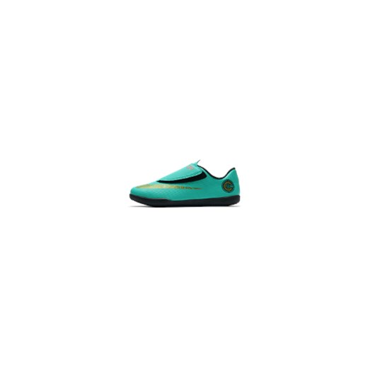 największa zniżka przyjazd kup tanio Halowe buty piłkarskie dla maluchów / małych dzieci Nike Jr. MercurialX  Vapor XII Club CR7 IC - Zieleń