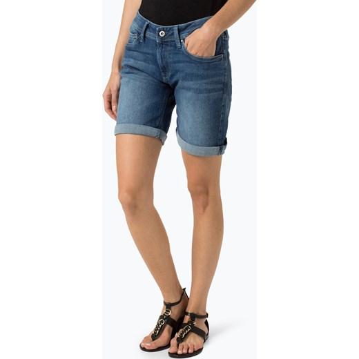 349846942e9d Pepe Jeans - Damskie krótkie spodenki jeansowe – Poppy