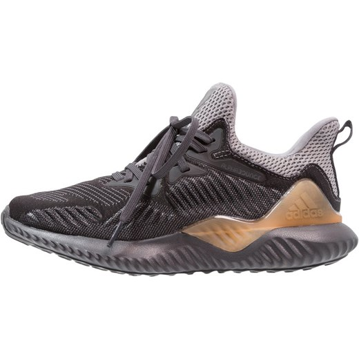 newest collection 1c5e8 acbdb adidas Performance ALPHABOUNCE BEYOND Obuwie do biegania treningowe grey  fourcarbon solid grey szary ...