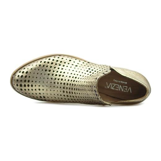 e27af603444c7 ... Botki Venezia NAVAJO-114BEI Beżowe lico szary Venezia Arturo-obuwie