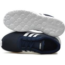 7a6754760be47c Granatowe buty damskie adidas płaska podeszwa sznurówki, lato 2019 w ...