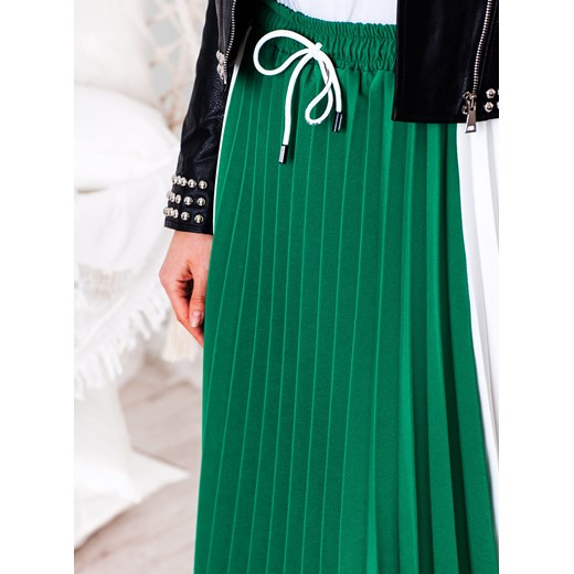 d0ea4774 Plisowana spódnica SPORT - zielona Selfieroom Selfieroom.pl