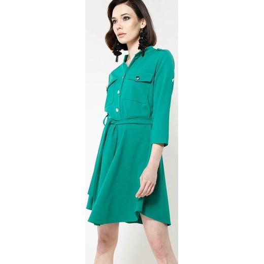 06999c16eb Zielona Sukienka Remarkable Renee uniwersalny Renee odzież ...