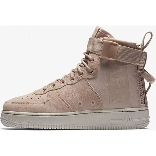 big sale cf947 caf7f WMNS SF AIR FORCE 1 MID AA3966-201 Nike brazowy runcolors.pl