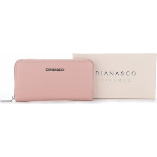 246581552a357 ... Klasyczny Portfel Damski Diana amp Co Firenze Pudrowy Róż bezowy  Diana amp Co PaniTorbalska ...