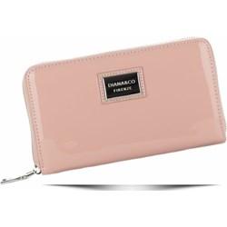 f7d1e24909056 Różowe portfele damskie włoskie portfele ze skóry