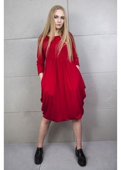 Tunika ciążowa czerwona   Firemove - kod rabatowy