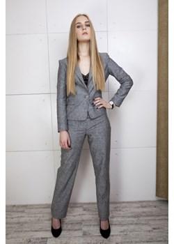 Spodnie z lnu szare  Firemove  - kod rabatowy