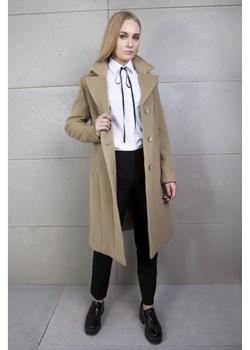 Płaszcz wełniany carmel   promocyjna cena Firemove  - kod rabatowy
