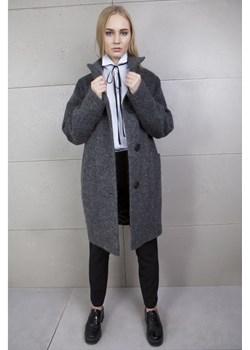 Płaszcz kimono szary Firemove  okazja   - kod rabatowy