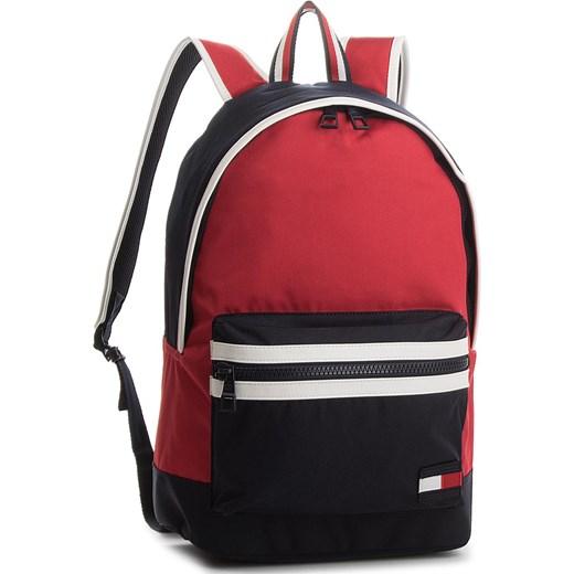 94d93780d4b04 Plecak TOMMY HILFIGER - Tommy Backpack Corporate AM0AM03244 904 czerwony Tommy  Hilfiger eobuwie.pl