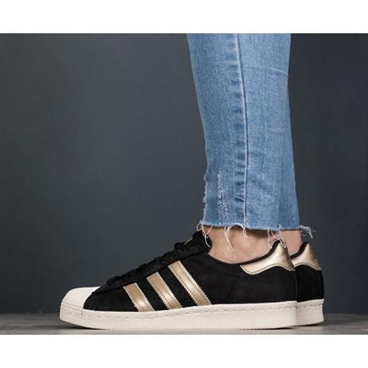 buy popular 6dee4 c42be Buty damskie sneakersy adidas Originals Superstar 80s 999 BY9635 - CZARNY  sneakerstudio.pl