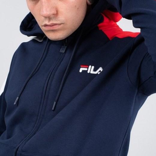 323c983f72d6 ... Bluza męska Fila Stan Cut And Sew Hoodie 684340 A47 - GRANATOWY S  sneakerstudio.pl ...