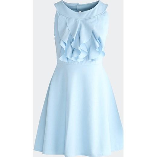 9c13035cc6f38 Jasnoniebieska Sukienka Good Shape Born2be uniwersalny okazyjna cena  Born2be Odzież ...