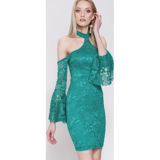 0db7fc569b Zielona Sukienka Days of Our Lives Renee uniwersalny Renee odzież ...