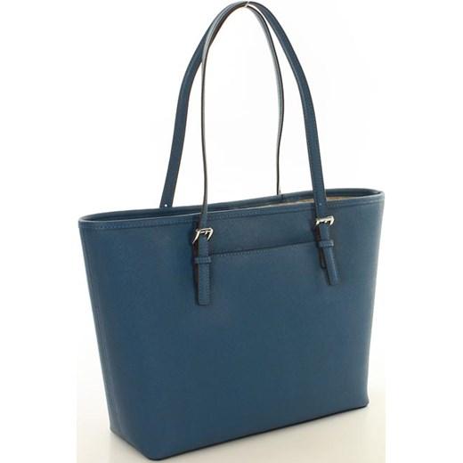 3c3e20ee4499b ... Oryginalna torebka shopper bag MICHAEL KORS STEEL BLUE zielony Michael  Kors Verostilo wyprzedaż ...