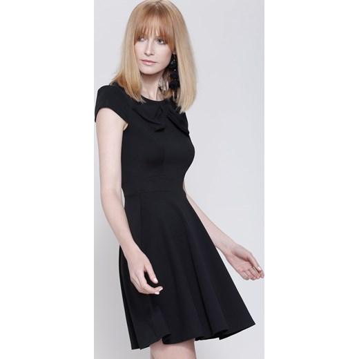 26ae63529f Czarna Sukienka Controlled Love Renee odzież w Domodi
