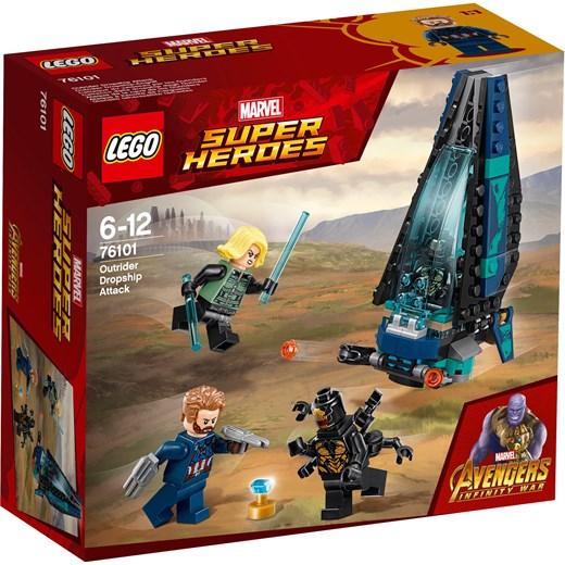 Klocki Lego Marvel Atak Statku Outriderów 76101 Oficjalny Sklep