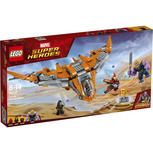 Klocki Lego Marvel Thanos Ostateczna Walka 76107 Oficjalny Sklep