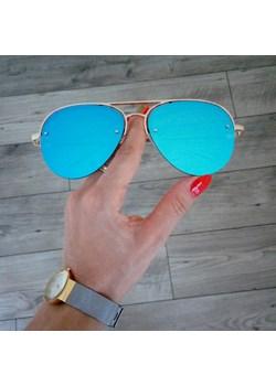 OKULARY SHINE BLUE   antonella butik - kod rabatowy