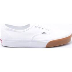 21d6d2dd Trampki męskie Vans authentic białe tkaninowe sznurowane młodzieżowe