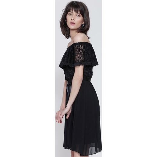 490f6ddbb7 Czarna Sukienka Things We ve Done czarny Renee uniwersalny Renee odzież ...