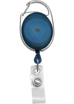✅Brelok z Linką Zwijaną do Identyfikatorów oraz Kluczy Niebieski  Koruma® Koruma ID Protection - kod rabatowy