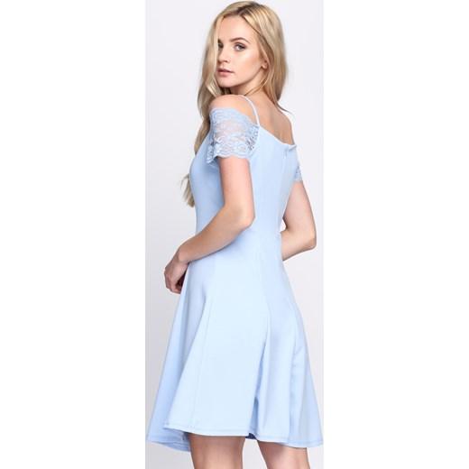 77a3cfb40fdaf ... Jasnoniebieska Sukienka Paradise Vibes Born2be M okazyjna cena Born2be  Odzież ...