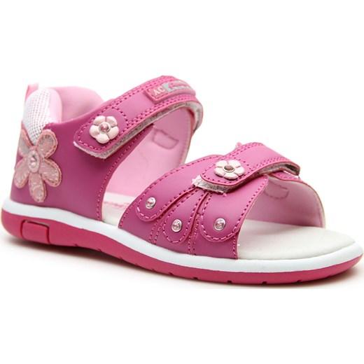d9cee3ce Sandały dziewczęce na rzepy różowe American Club American Club rozowy 31  promocyjna cena ButyRaj.pl ...