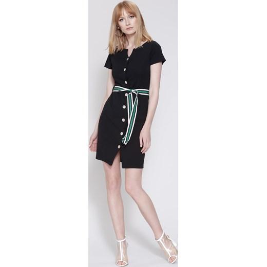 c2f471c336 Czarna Sukienka Ticket To The Moon Renee bezowy uniwersalny Renee odzież ...
