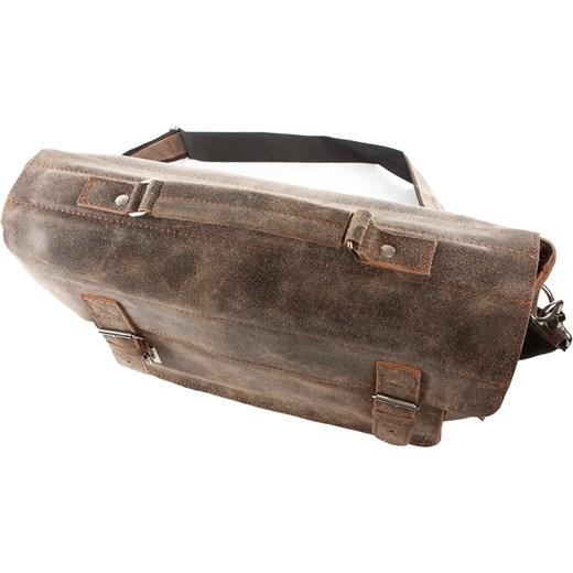 2179eb38f2516 ... Męska torba ze skóry naturalnej beżowa BV50 Uk Fashion One Size okazja  Brytyjka.pl