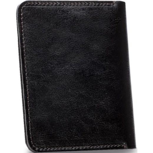 4640785115fdd ... Skórzany cienki portfel męski z bilonówką SOLIER SW15 SLIM ciemny brąz  Solier Skorzana.com ...
