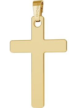 ZŁOTA ZAWIESZKA KRZYŻ, GRAWER, AU 585 : Złoto - Próba 585 (14K) Giorre bezowy  - kod rabatowy